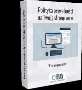 polityka prywatności wzór do pobrania