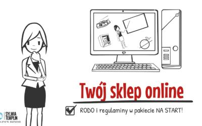 """7 problemów, które możesz rozwiązać dzięki kursowi online """"Twój sklep online. RODO i regulaminy w pakiecie NA START."""""""