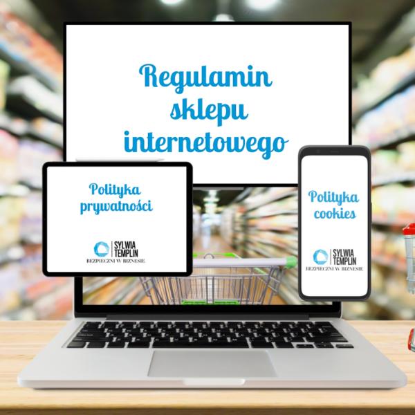 Regulamin sklepu online wzór